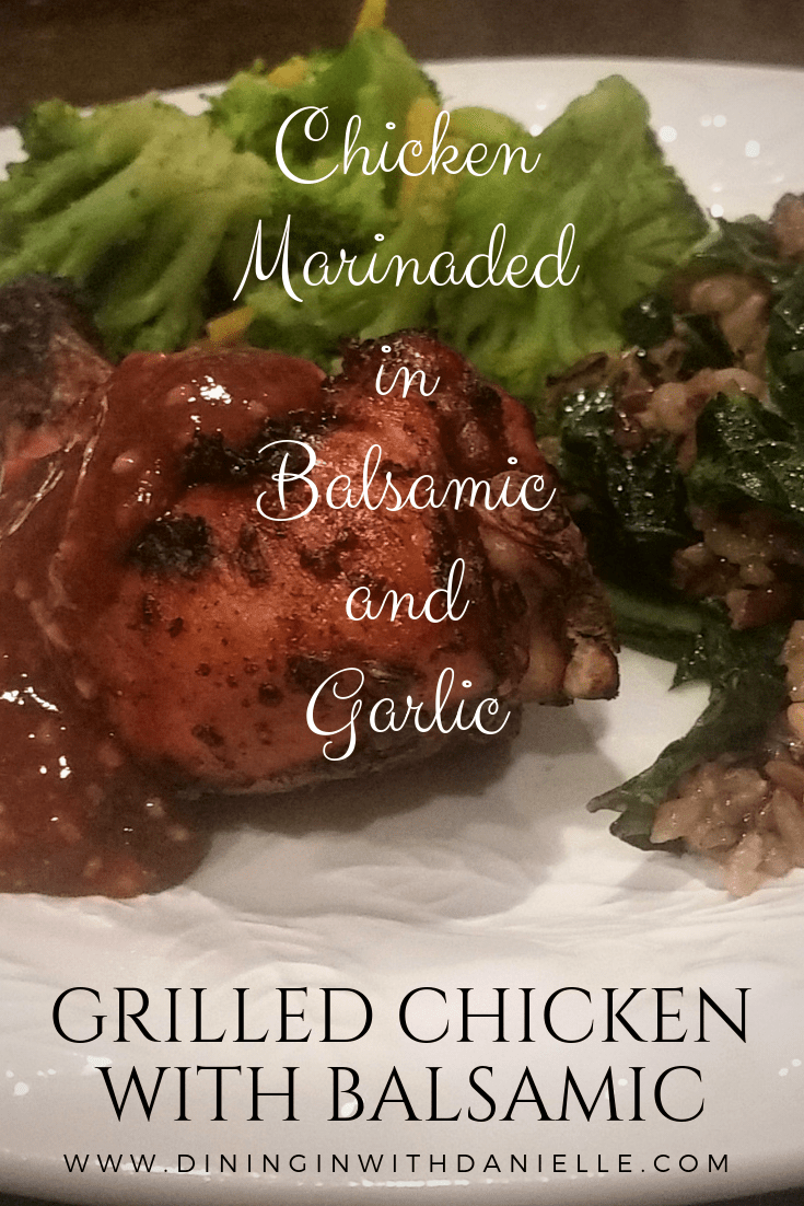 Read more about the article Grilled Chicken with Balsamic
