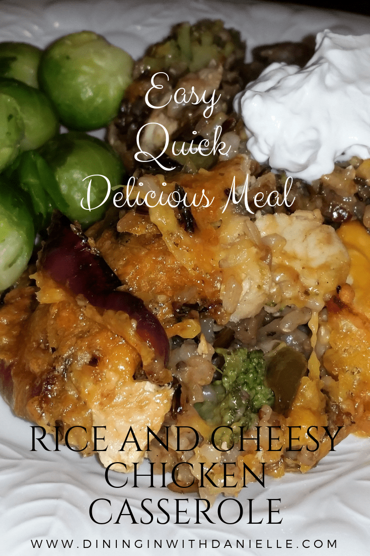 Read more about the article Rice and Cheesy Chicken Casserole