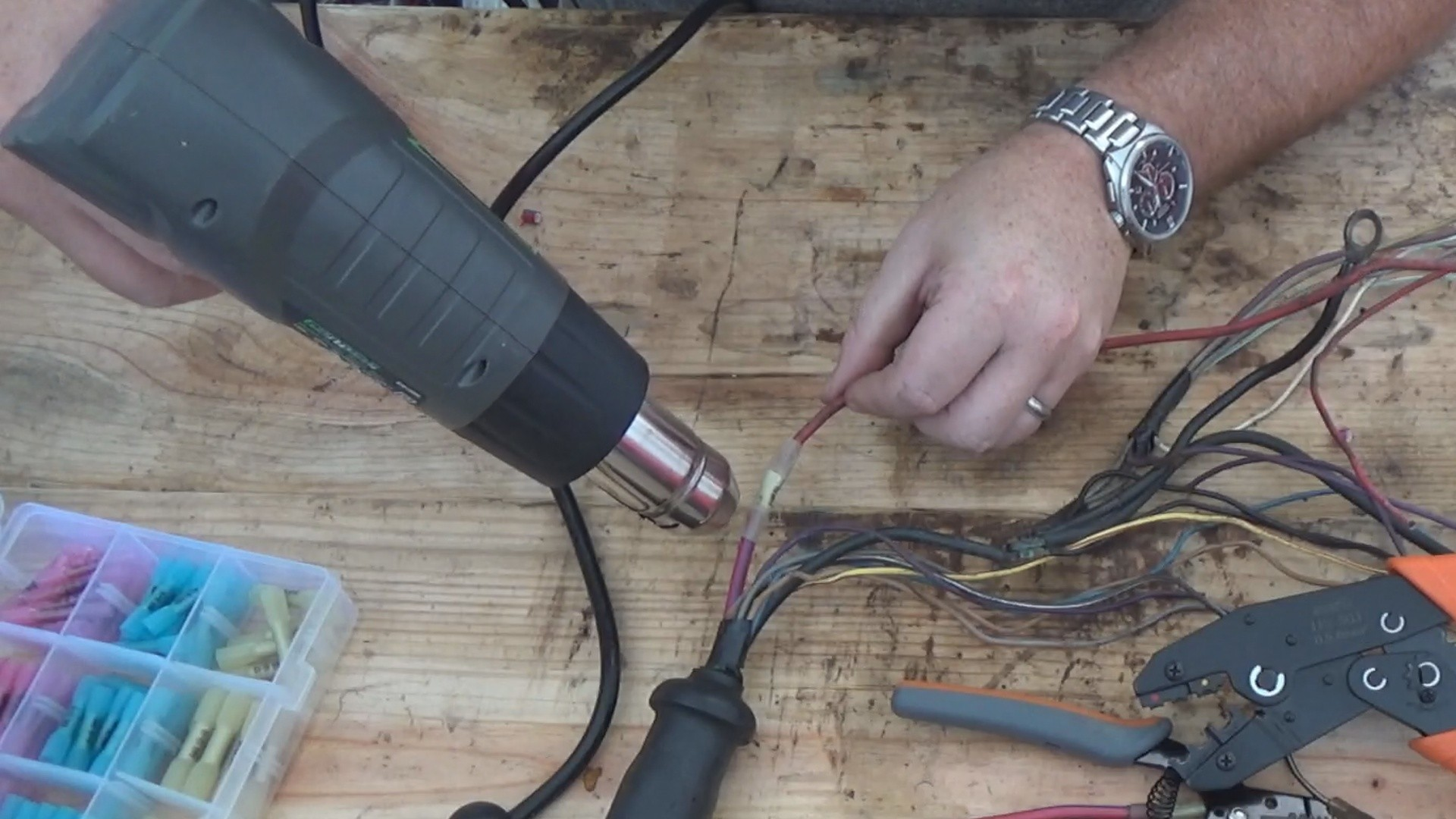 Hand Tool Power Supply Wire Harness | Wiring Library