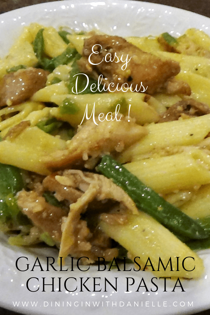 Read more about the article Garlic Balsamic Chicken Pasta