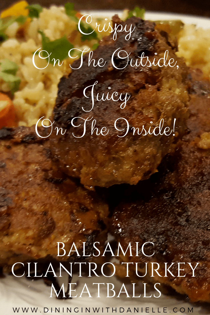 Read more about the article Balsamic Cilantro Turkey Meatballs