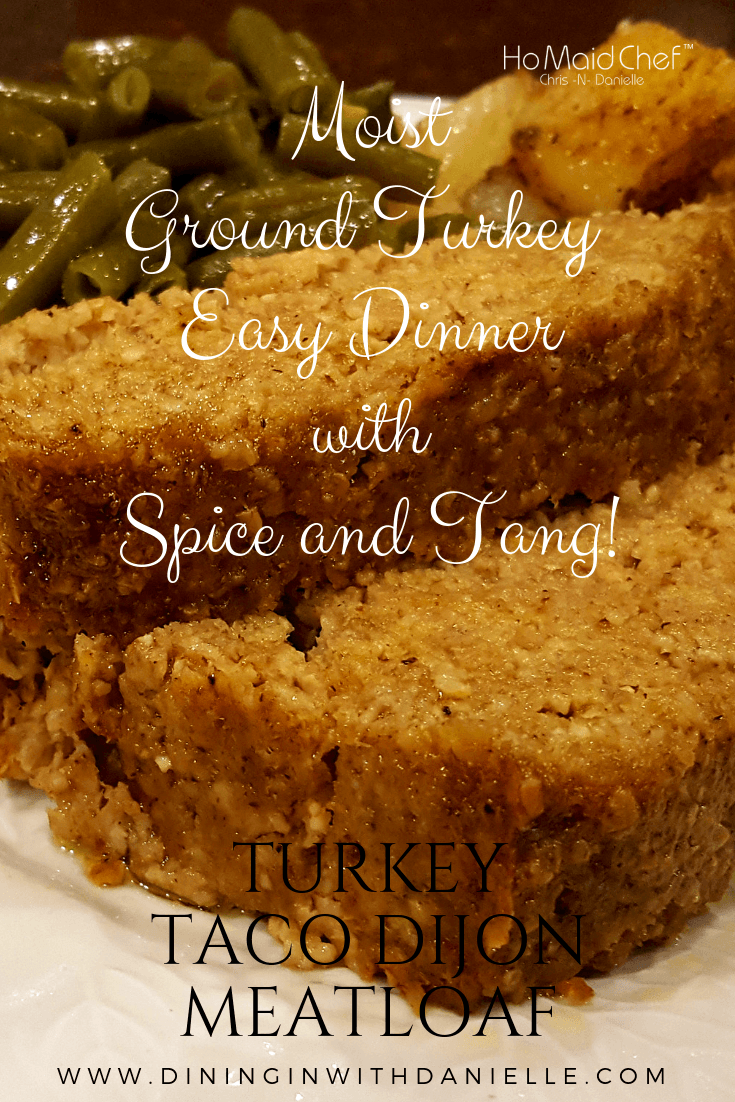 Read more about the article Turkey Taco Dijon Meatloaf