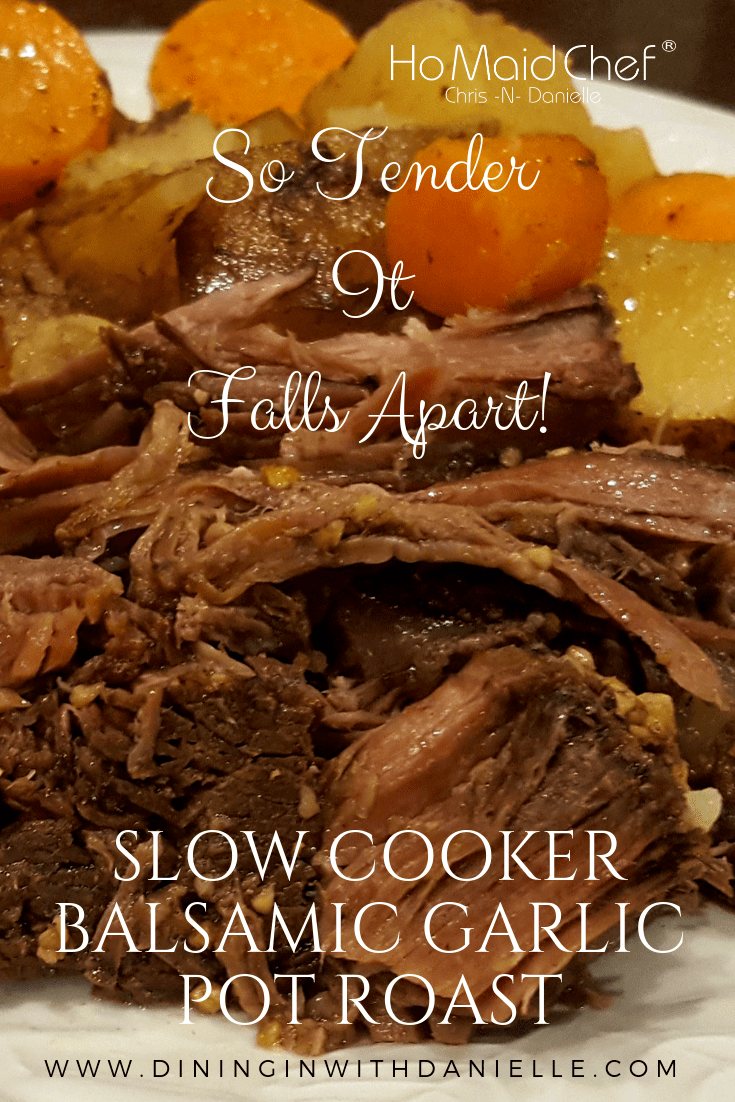 Read more about the article Slow Cooker Balsamic Garlic Pot Roast