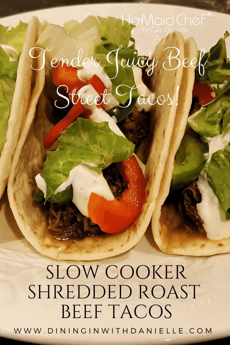 Read more about the article Slow Cooker Shredded Roast Beef Tacos
