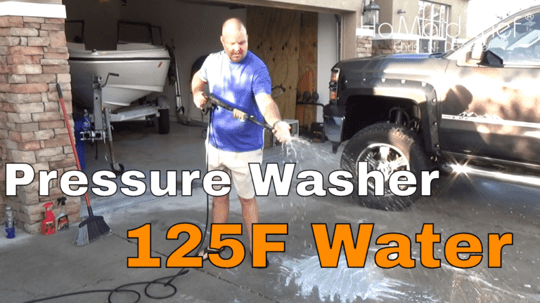 Read more about the article Budget Pressure Washer, 125F Hot Water Test To Remove Oil In Driveway