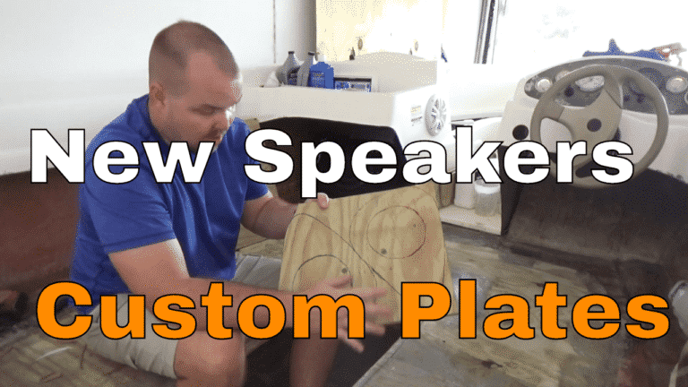 Read more about the article Custom Boat Speaker Plates EP #29 || Bayliner Bowrider 175