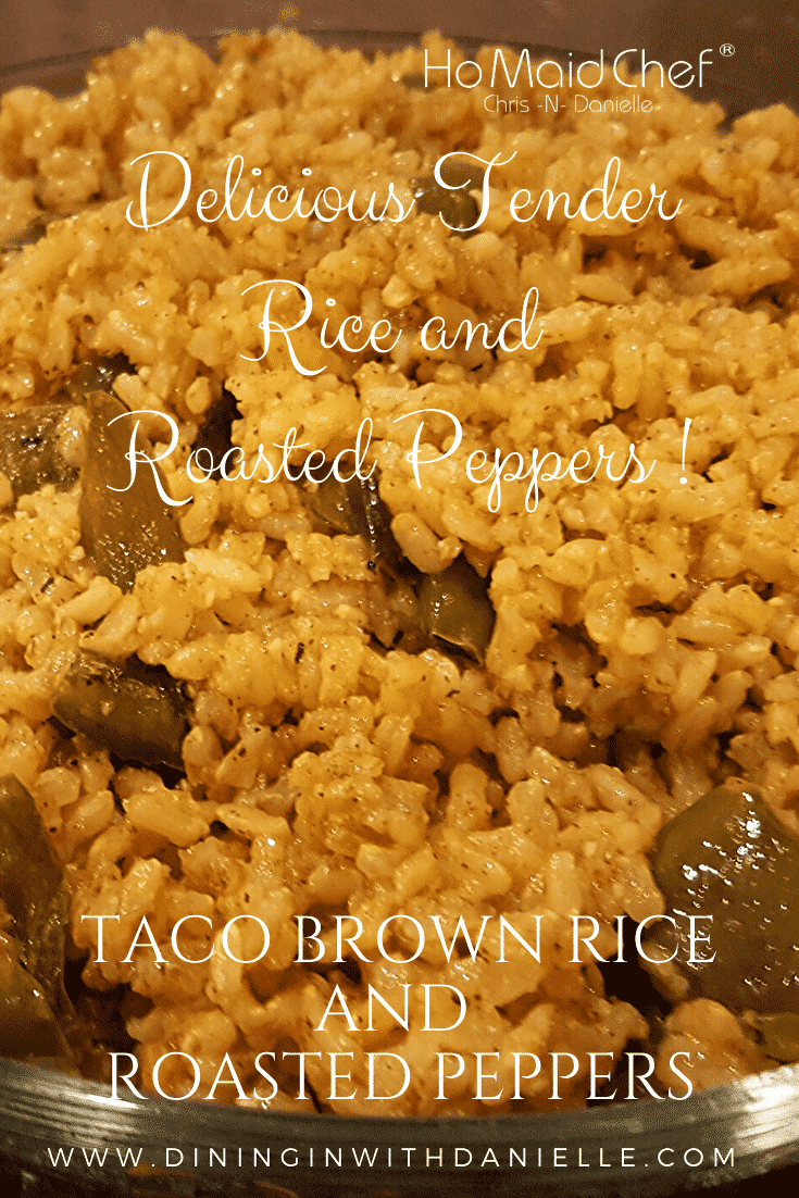 Taco Brown Rice and Roasted Peppers