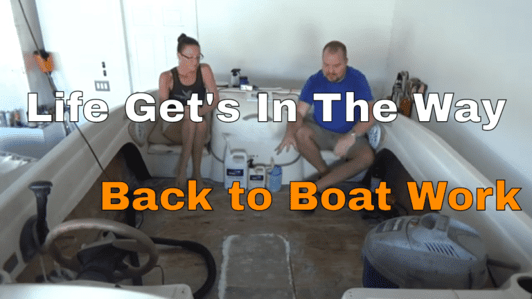 Back Boat Work, Life Gets In The Way EP #32 || Bayliner Bowrider 175