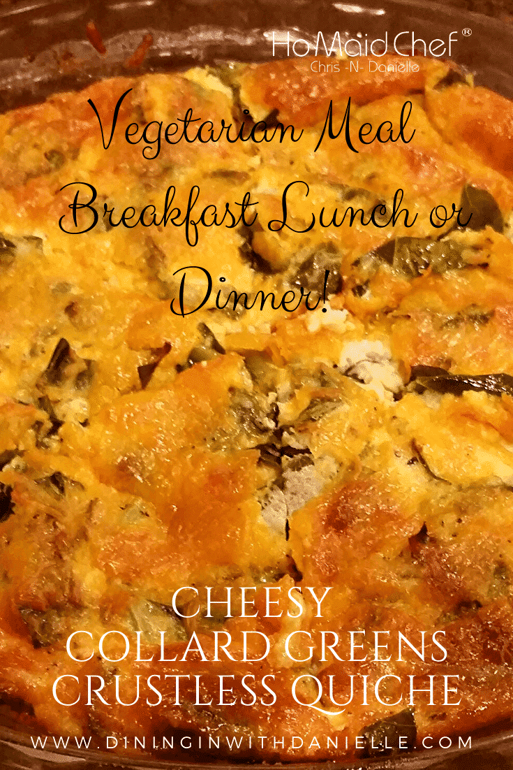 Read more about the article Cheesy Collard Green Crustless Quiche