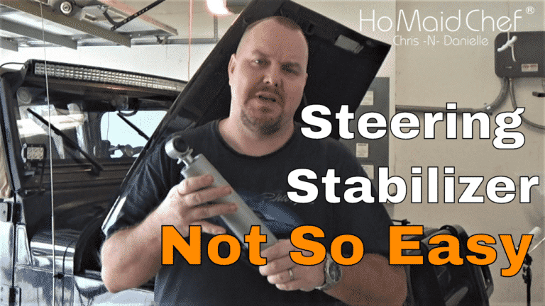 Read more about the article Installing Steering Stabilizer || Jeep Mods E16