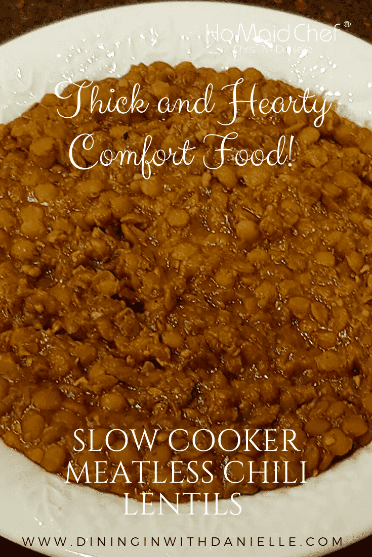 Read more about the article Slow Cooker Meatless Chili Lentils