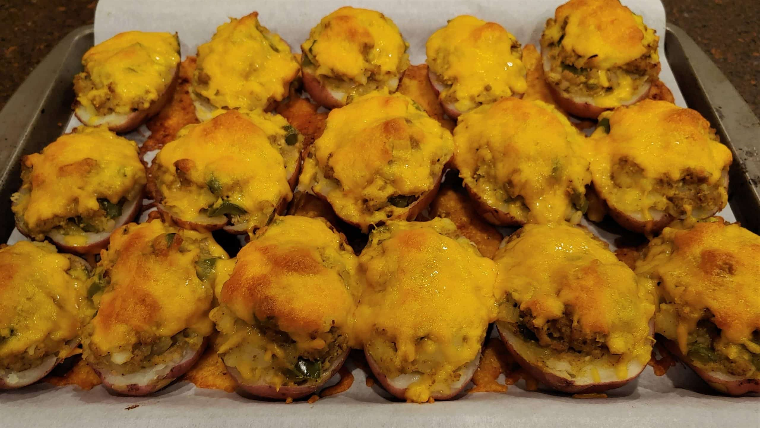 Twice Baked Potatoes for Dinner or as a Side dish - Dining in with Danielle