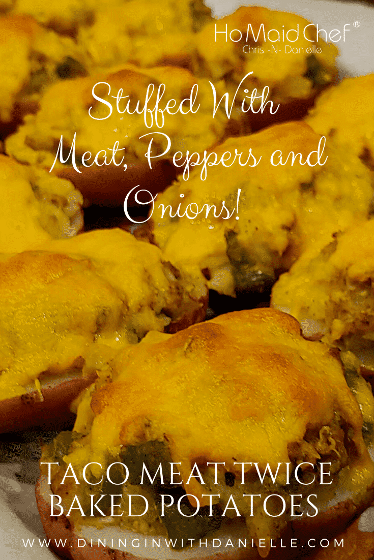 Read more about the article Taco Meat Twice Baked Potatoes