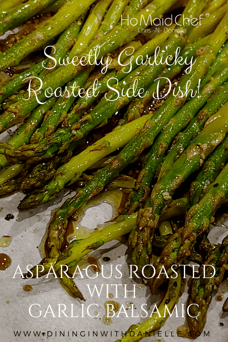 Read more about the article Asparagus Roasted with Garlic Balsamic
