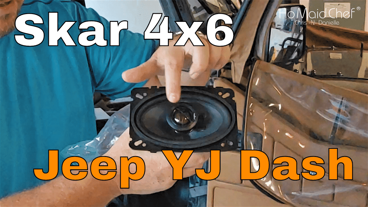 How To Install Jeep Yj Dash Speakers Review Skar 4x6