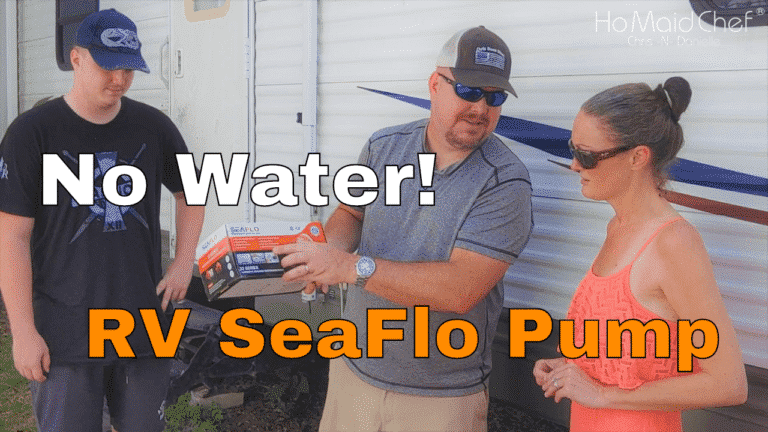 Install Seaflo Water Pump In Travel Trailer - Chris Does What