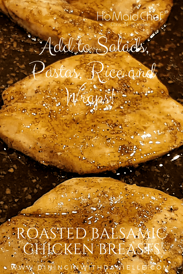 Read more about the article Roasted Balsamic Chicken Breasts