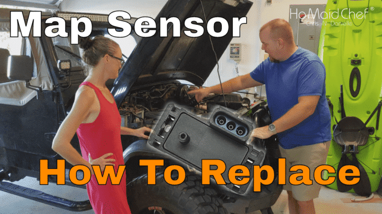 How To Replace MAP Sensor - Chris Does What