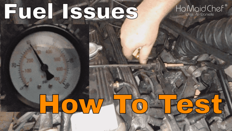 How To Test Fuel Pressure And Fuel Regulator    Jeep Sputtering E07