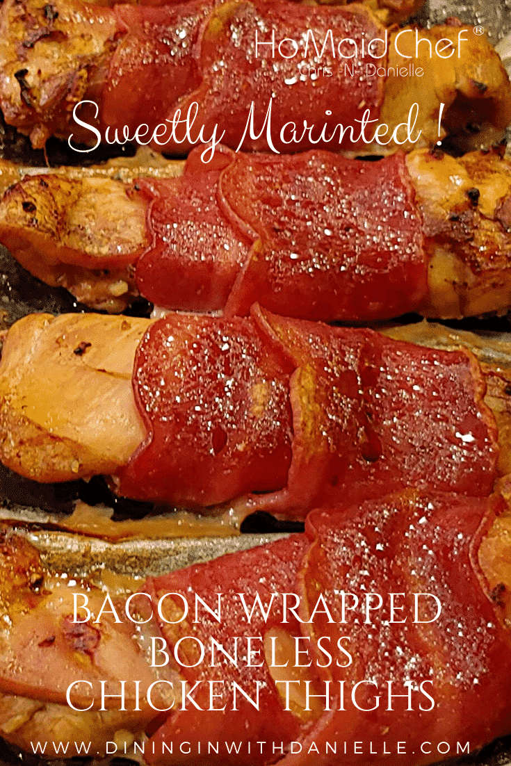 Read more about the article Bacon Wrapped Boneless Chicken Thighs