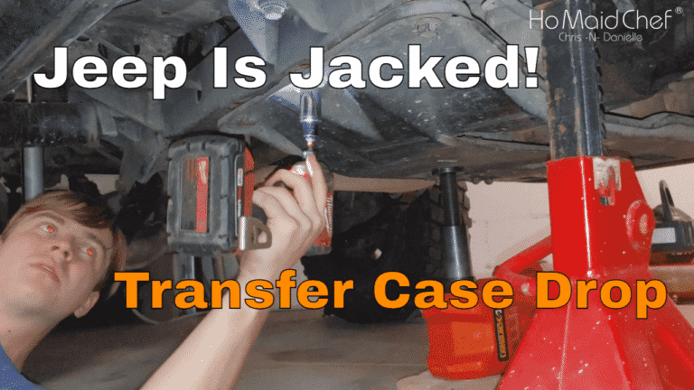 How To Install 1-inch Transfer Case Drop Kit    Jeep Mods E37