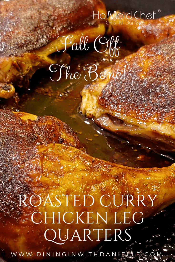 Roasted Curry Chicken Leg Quarters