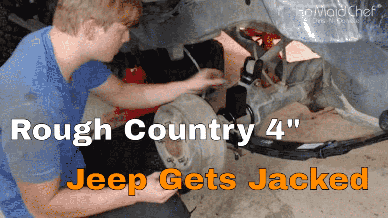 Install Rough Country 4-Inch Lift Kit Rear Only - Chris Does What