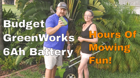 4 Month Review GreenWorks Generic 40v 6Ah Battery From Amityke
