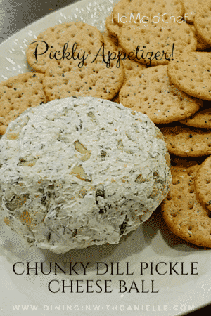 Chunky Dill Pickle Cheese Ball