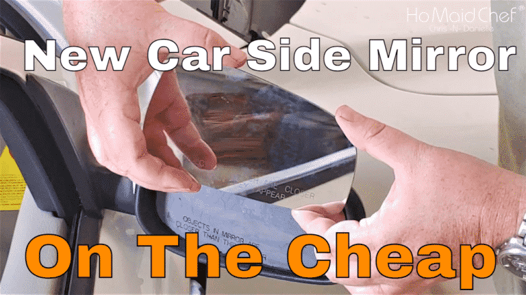 Install Stick-On Car Side Mirror Glass Replacement And 3 Week Review