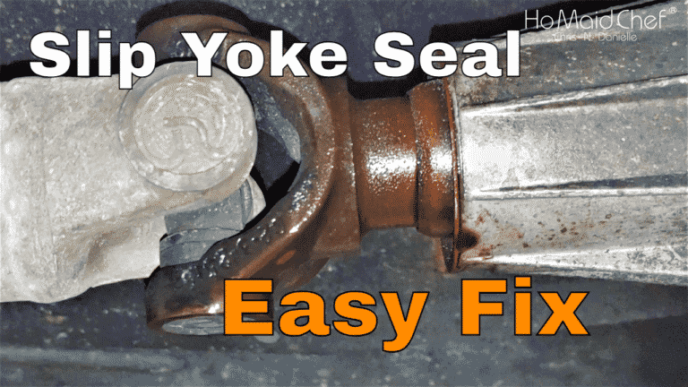 Replace  Slip Yoke Seal And Change Oil || Jeep Mods E44