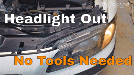 How To Replace Low Beam Bulb | No Tools | Volvo S60