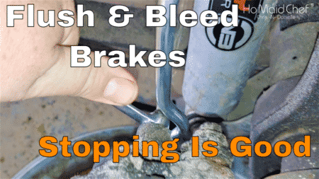 How to Flush and Purge Brakes As We Change Busted Brake Hose