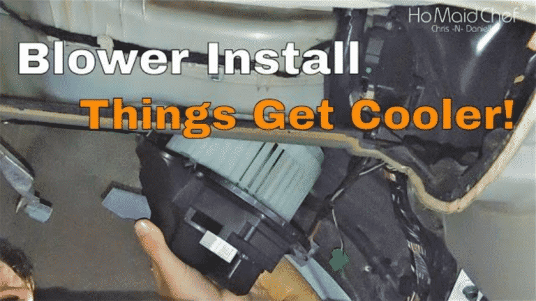 How to Replace a Blower Motor in Your Car And Diagnosing
