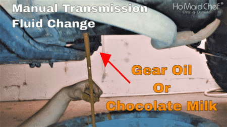 """How To Change Manual Transmission Oil """"Stick Shift"""" 
