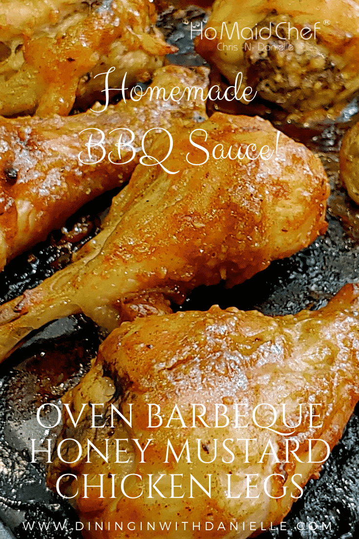 Barbeque Chicken - Dining in with Danielle