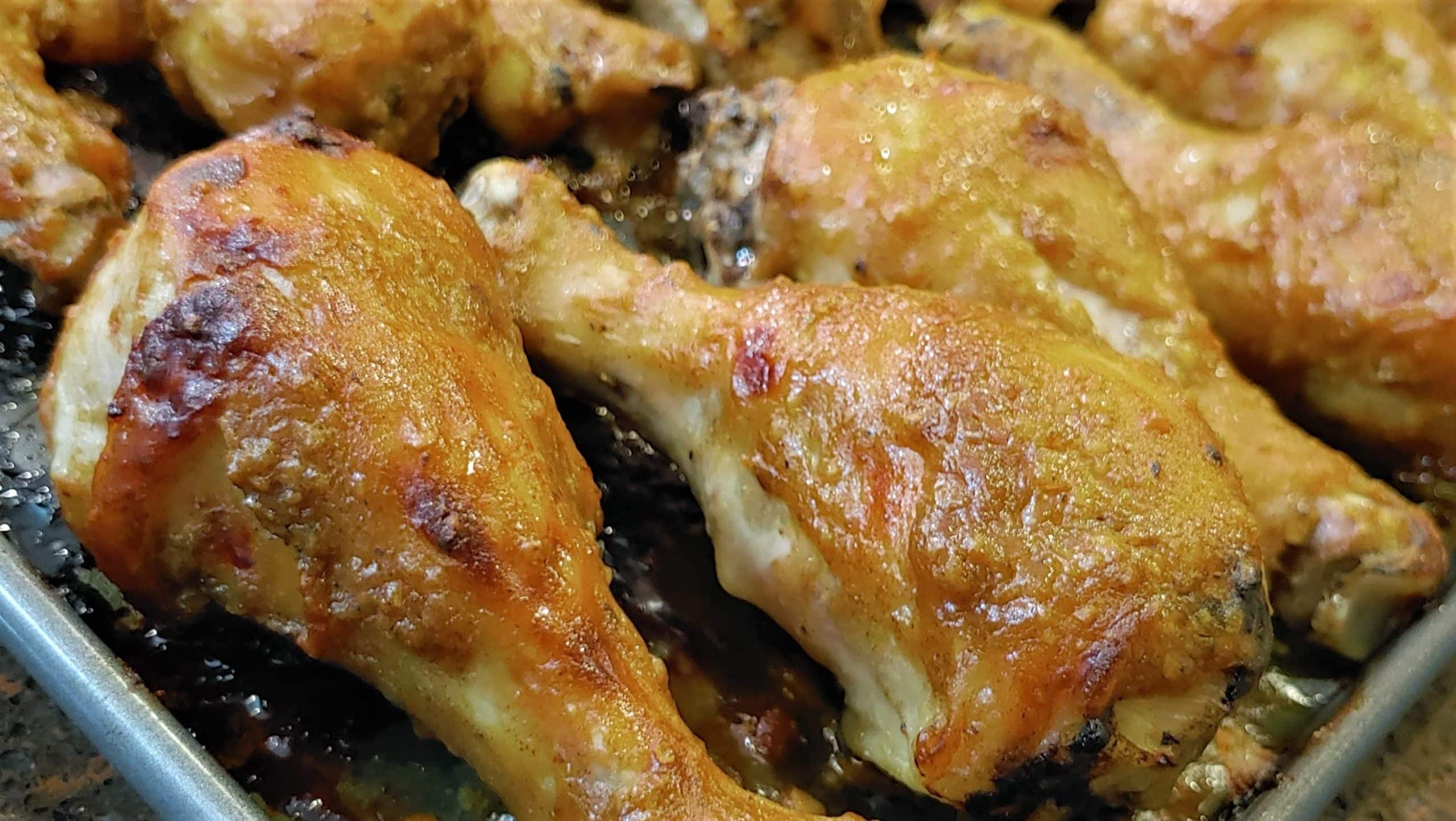 Oven Baked BBQ Chicken - Dining in with Danielle