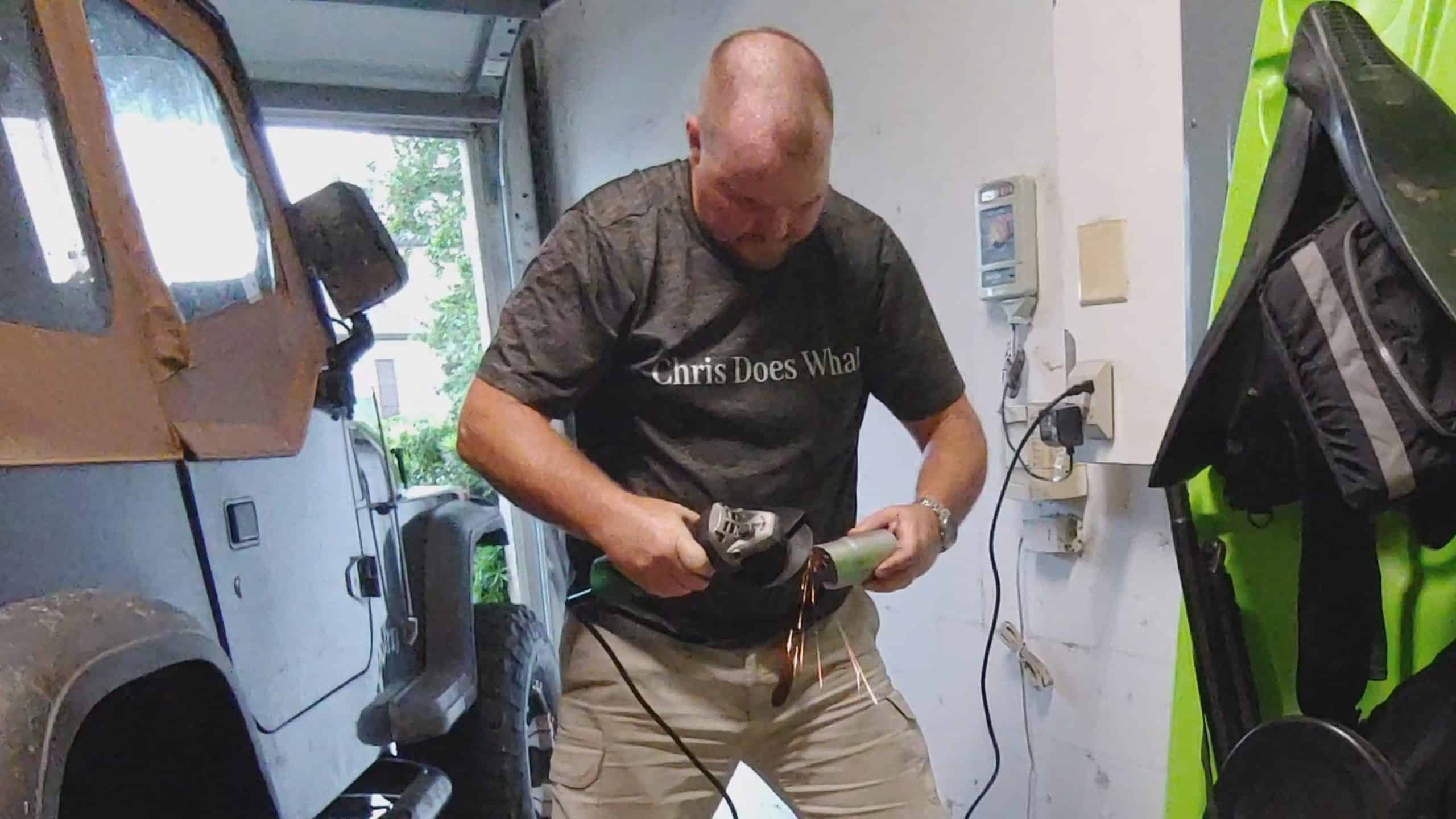 Cutting Pipe For Total Flow Muffler - Chris Does What