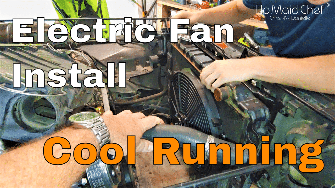 How To Wire An Electric Radiator Fan with Thermostat And Ignition Off