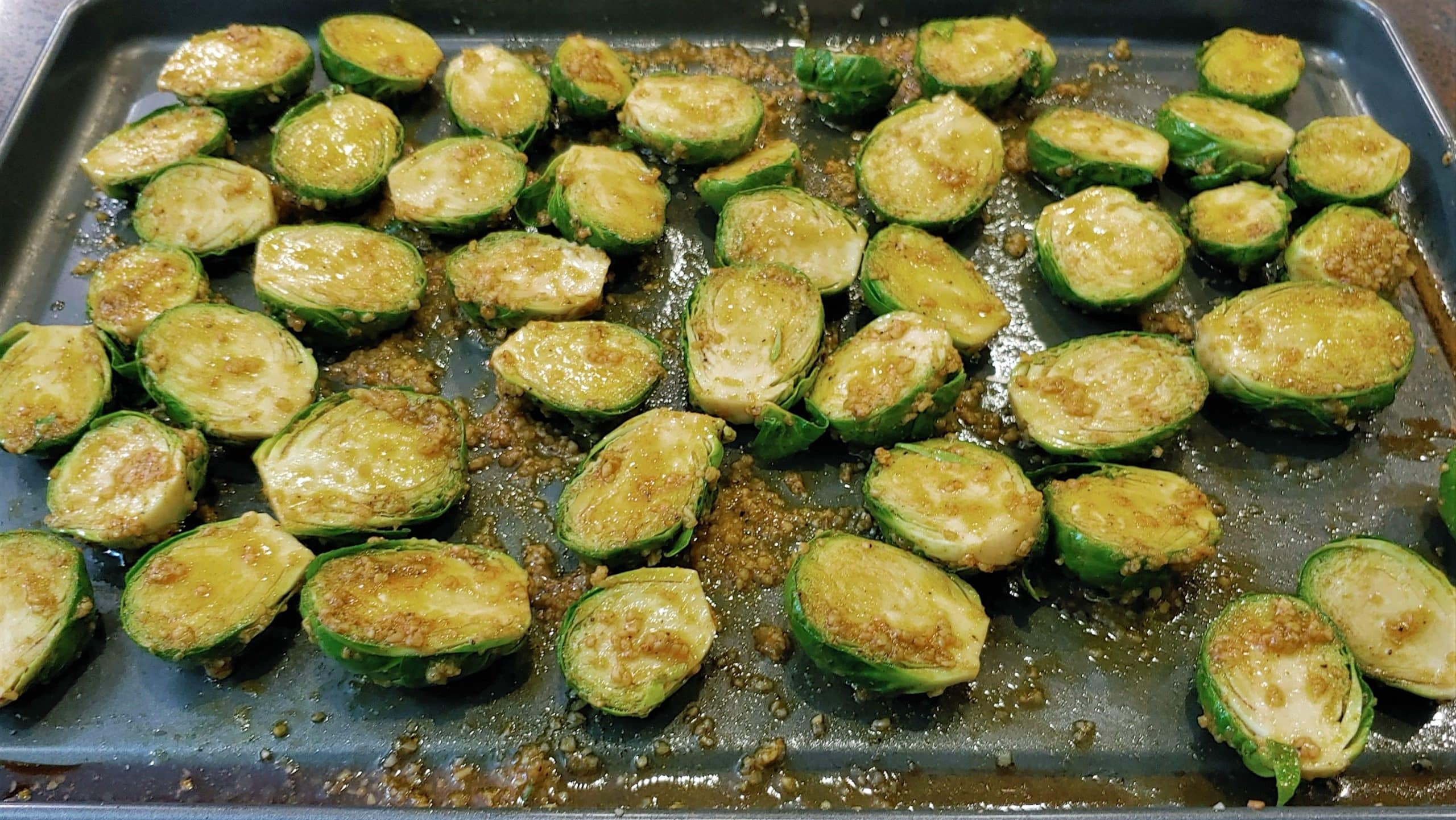 Fresh Brussels Sprouts - Dining in with Danielle