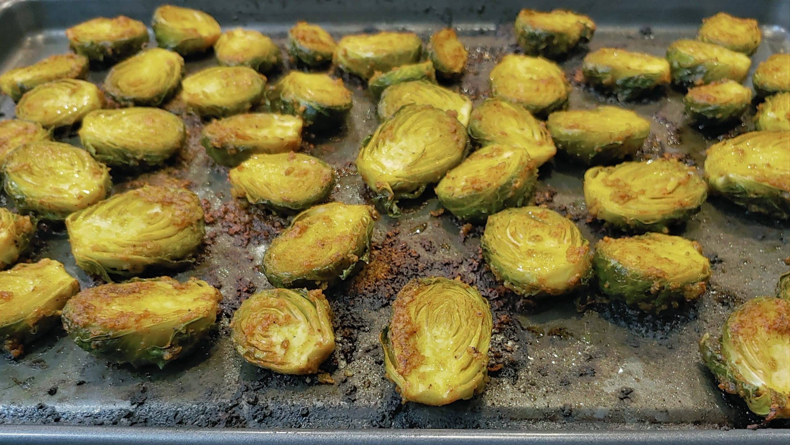 Balsamic Roasted Brussels Sprouts - Dining in with Danielle
