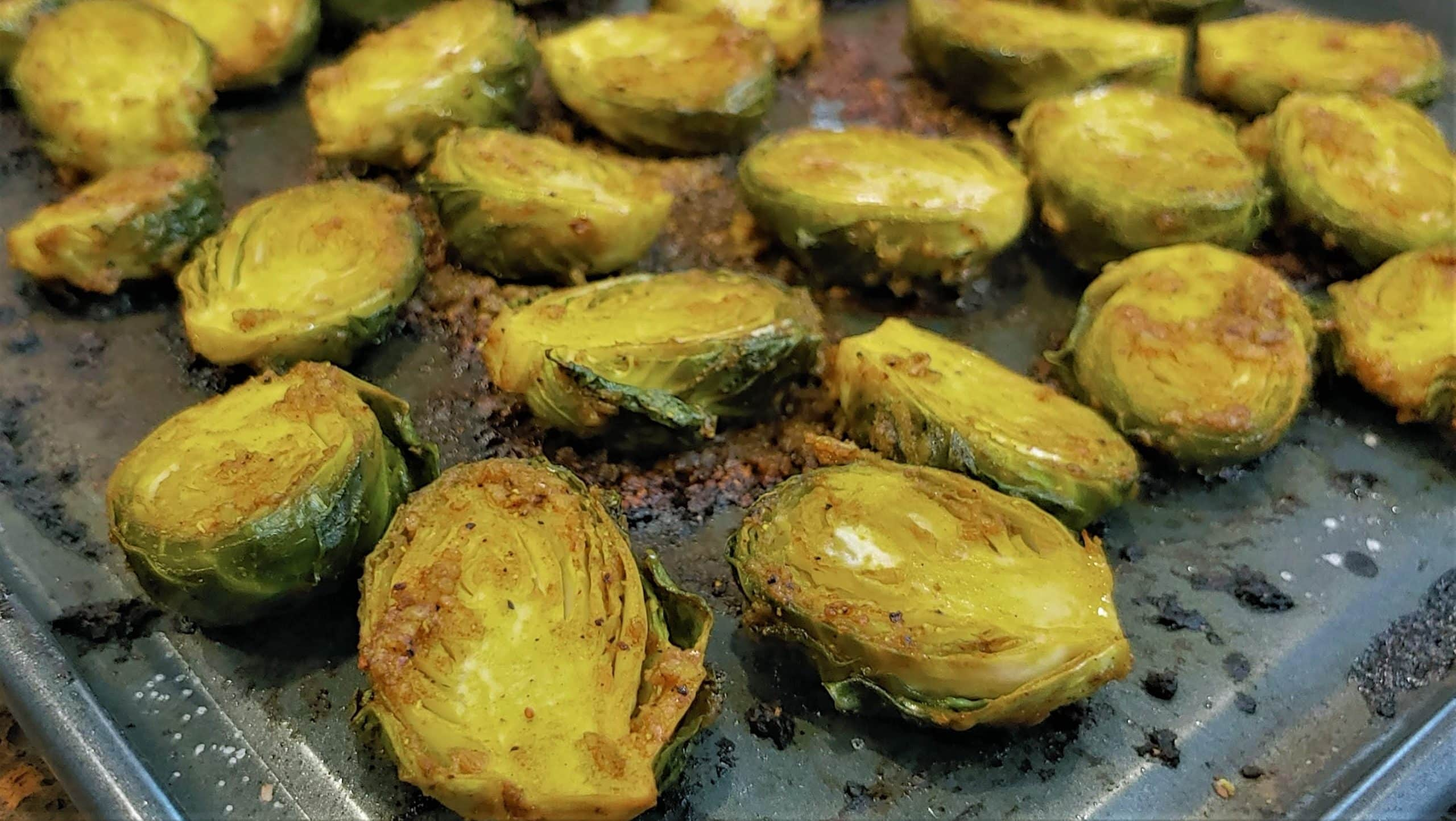 Roasted Brussels Sprouts - Dining in with Danielle