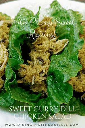 Sweet Curry Dill Chicken Salad