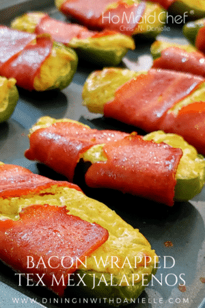 Bacon Wrapped Tex Mex Jalapenos