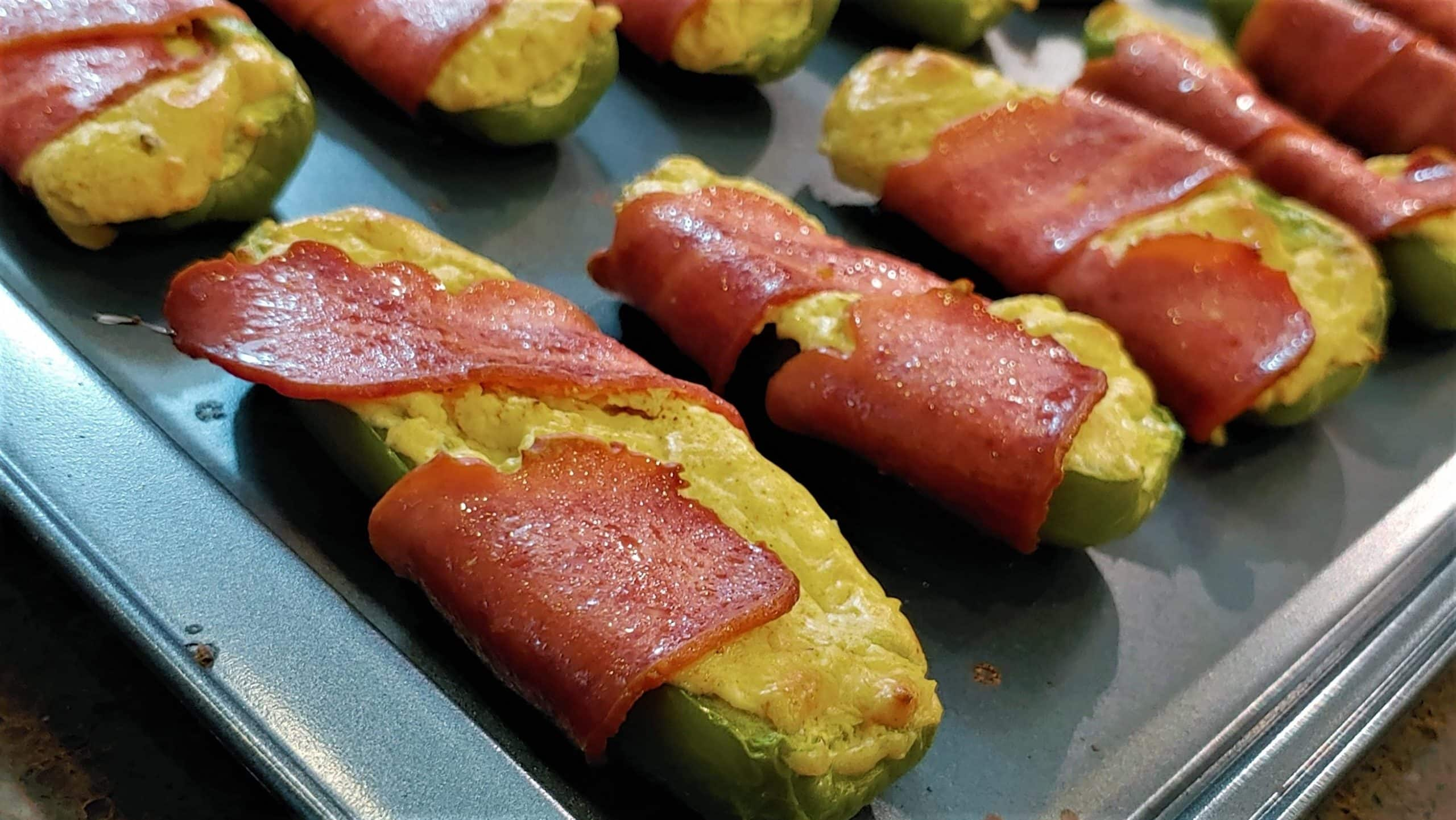Bacon Wrapped Jalapenos - Dining in with Danielle