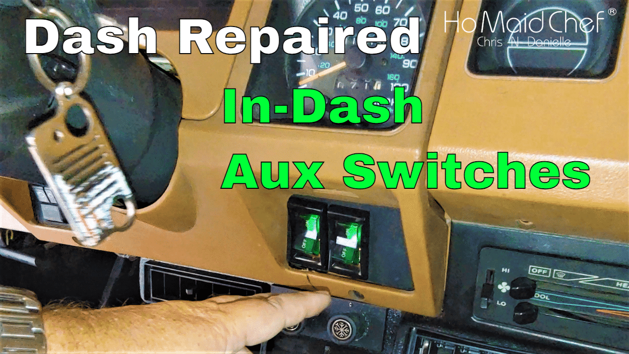 Dash Repair And Custom Aux Switches || Jeep Mods E50