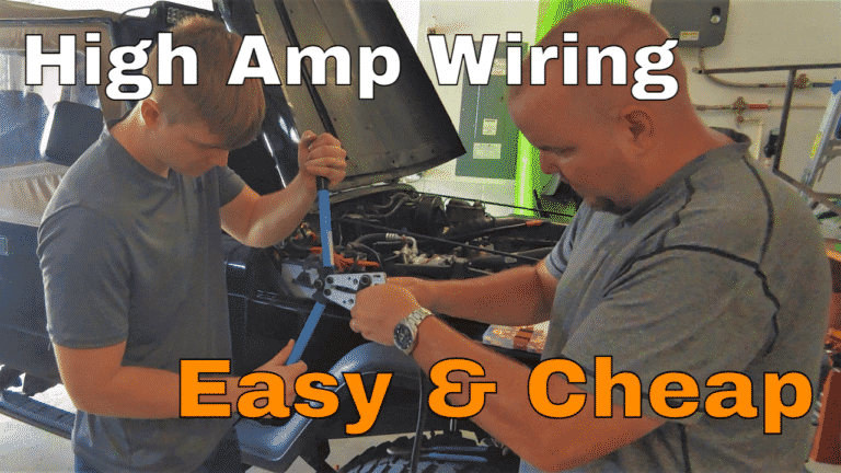How To Terminate Wire, Tip Jumper Cables are Cheap, 4 To 0 Gauge - Chris Does What