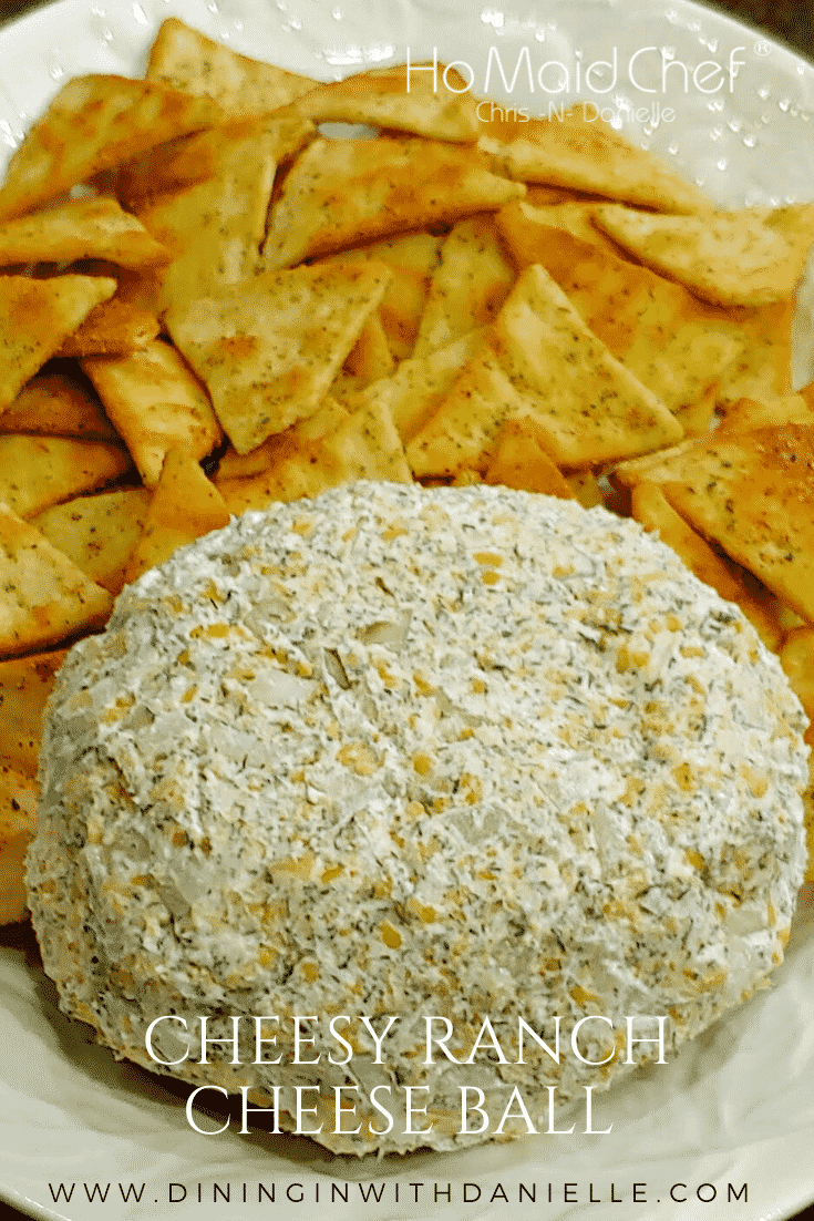 Cheese Ball - Dining in with Danielle