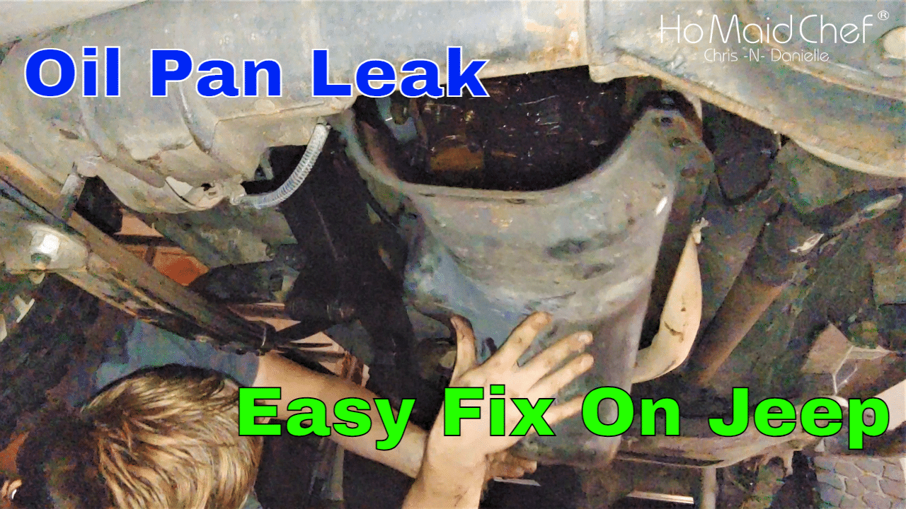 How To Replace Jeep 2.5 Oil Pan Gasket