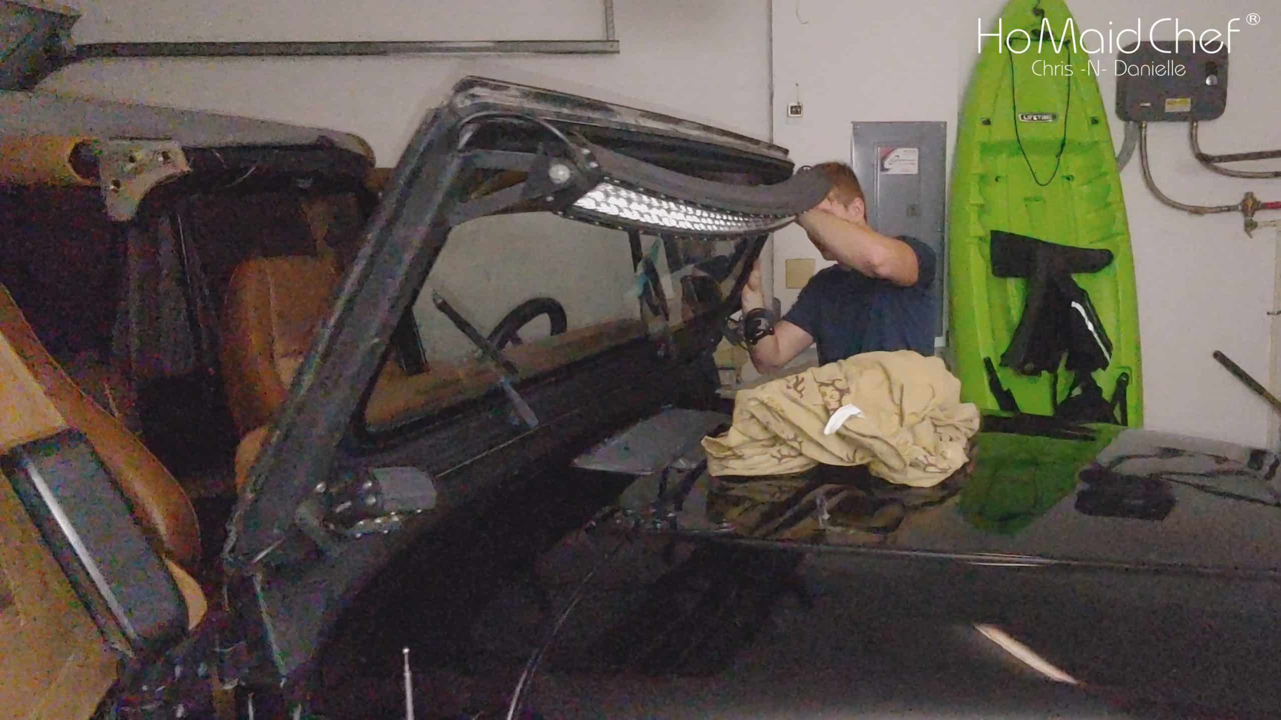 Lower The Jeep YJ Windshield - Chris Does What